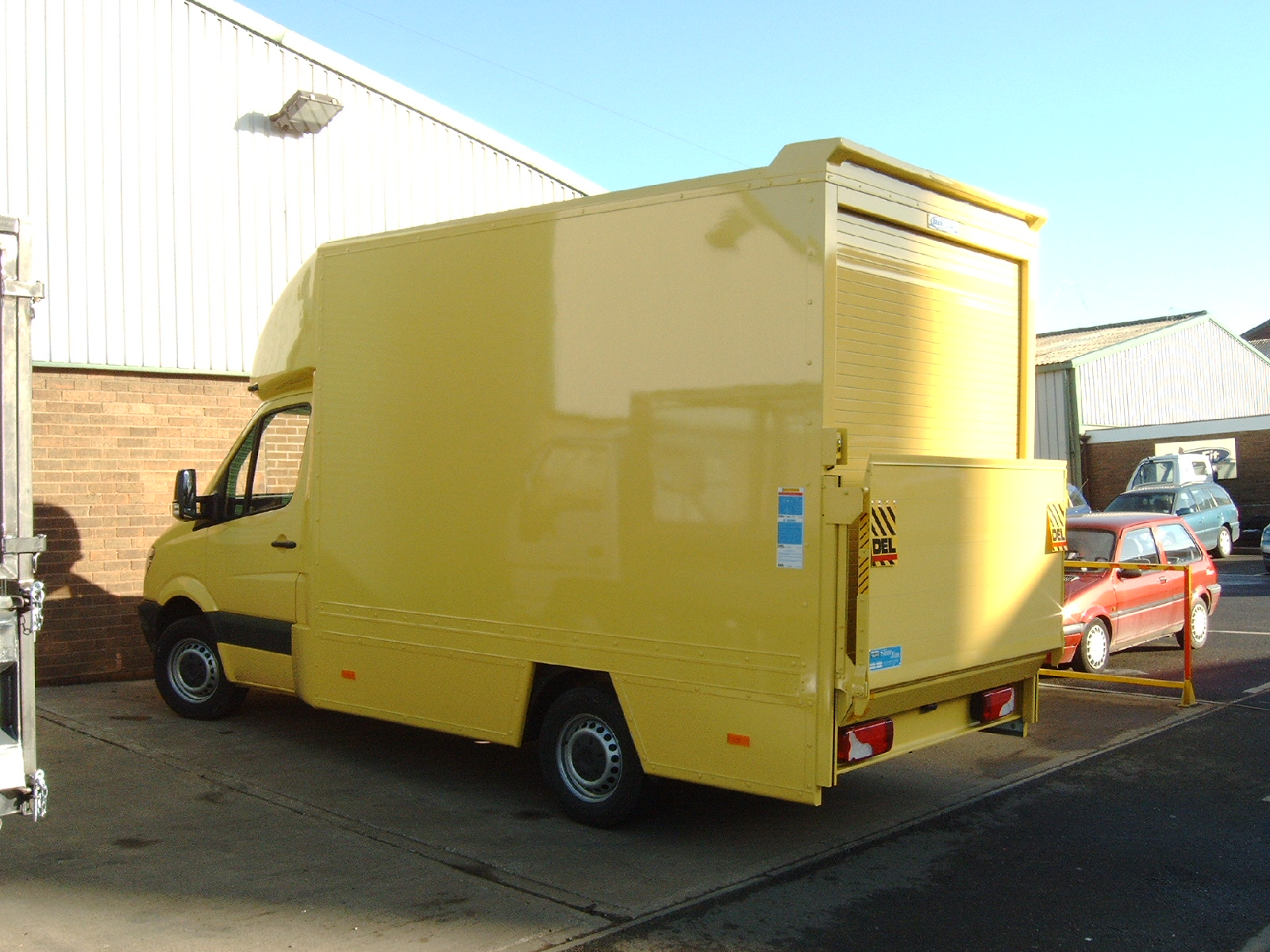 EcoBodies co uk - Luton & Box Vans